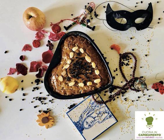 TORTA DI MELE ARLECCHINO  gluten free – sugar free – vegan