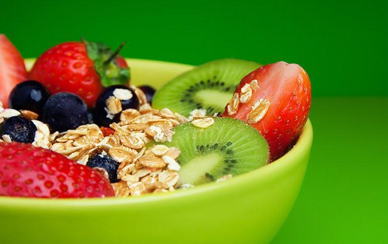 Frutta e verdura colazione
